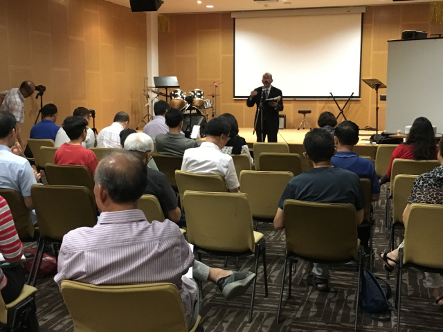 Baruch Teaching Singapur