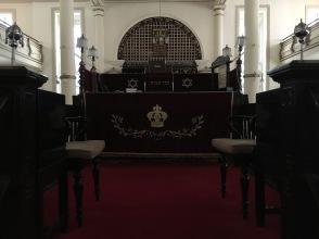 Sinagoga Singapur dentro