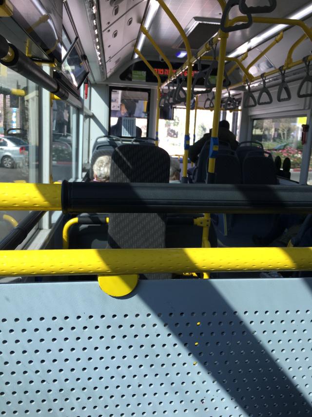Vida en Israel Autobus