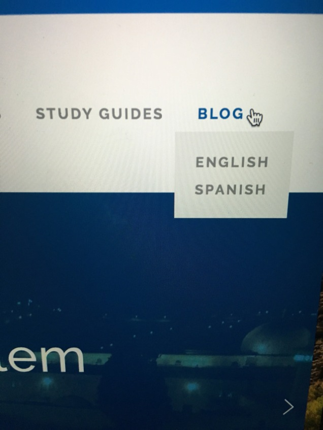 Englsih Spanish Blog