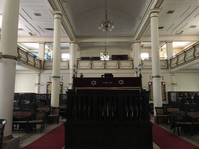 Inside a Synagogue