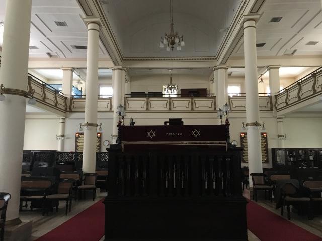Inside a Synagogue