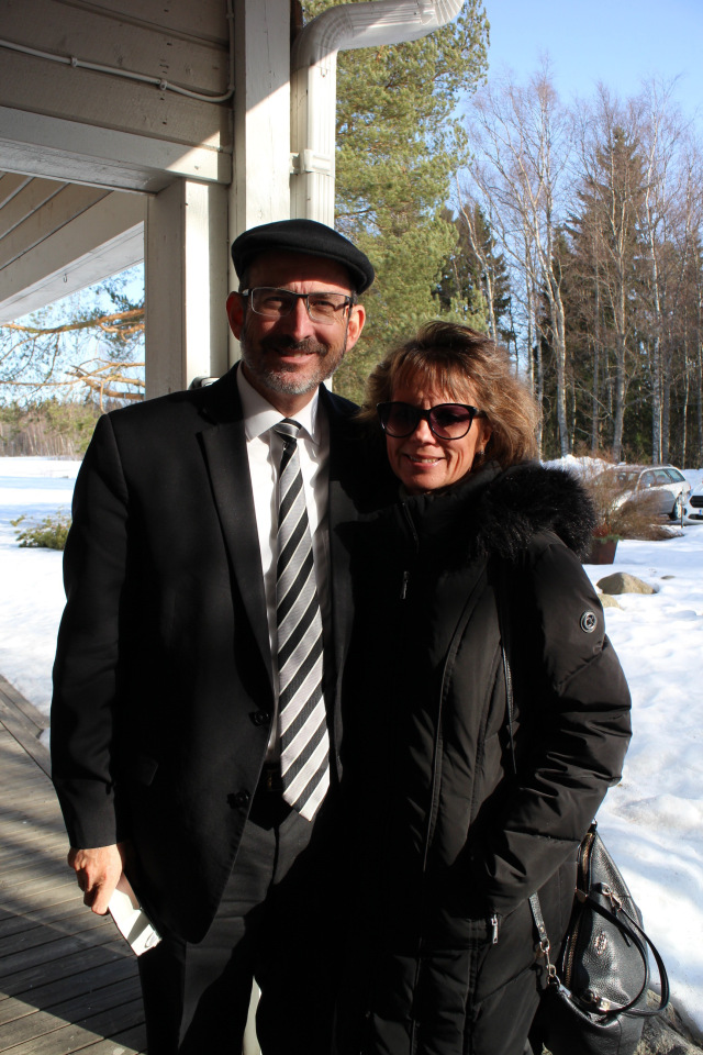 Finland - Baruch and Rivka