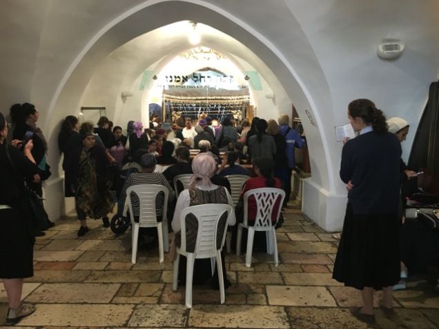 women_s section at Rachel_s tomb