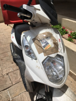 Delivery scooter 2