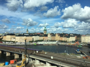 Day and evening views in Stockholm, Sweden 2