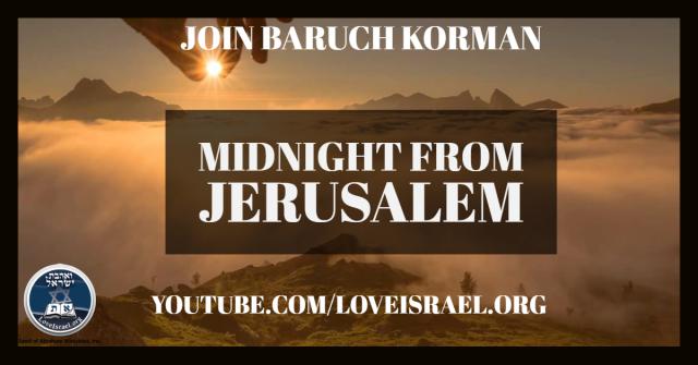 Medianoche desde Jerusalén