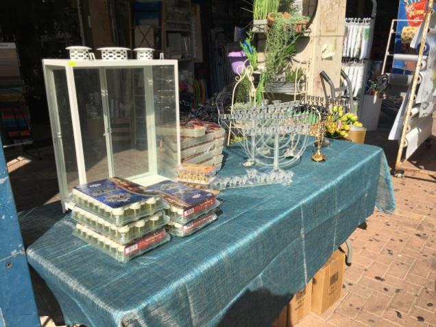 Hanukkah supplies for sale