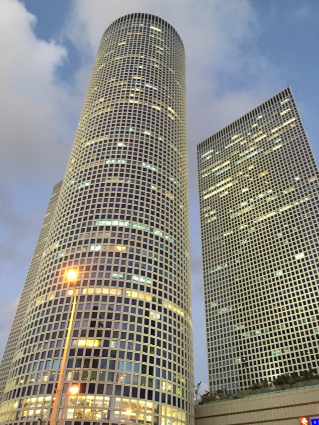Tall Buildings Tel Aviv