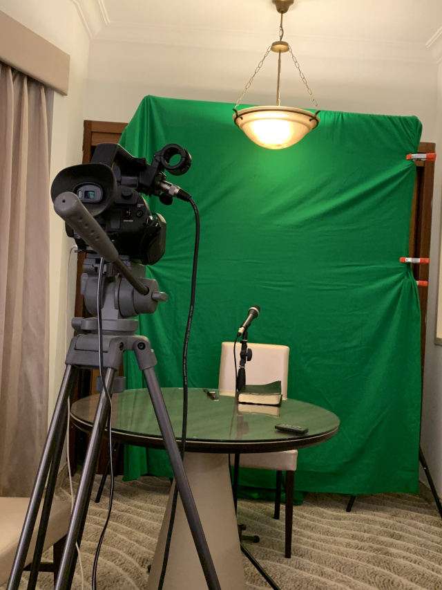 Baruchs Home Filming Set