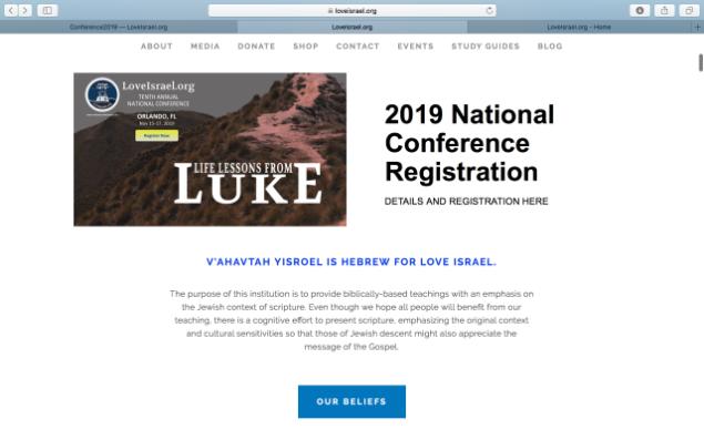 Décima Conferencia Anual de LoveIsrael.org
