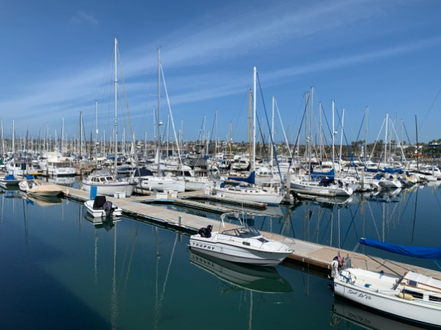 Sunny Sunday morning in San Diego
