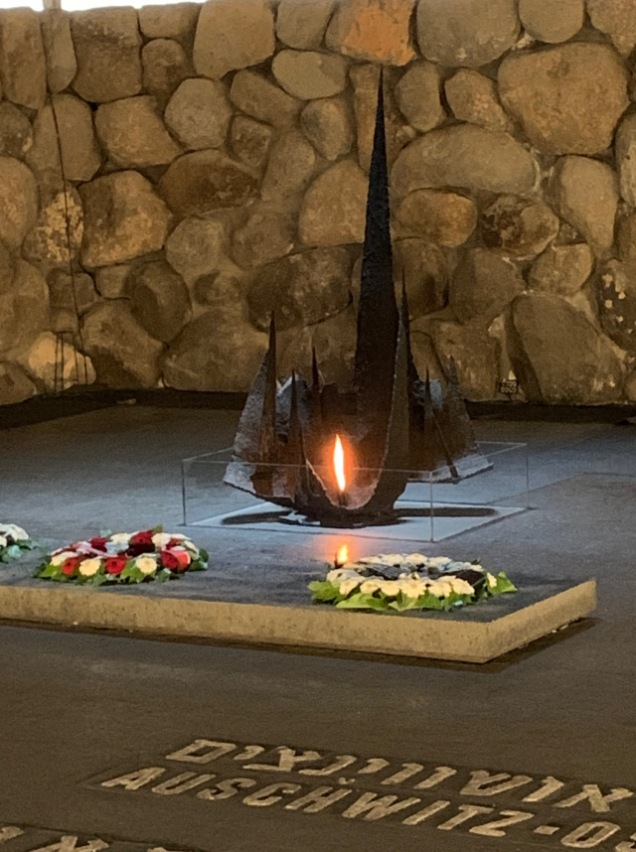 Eternal Flame at Yad V'Shem
