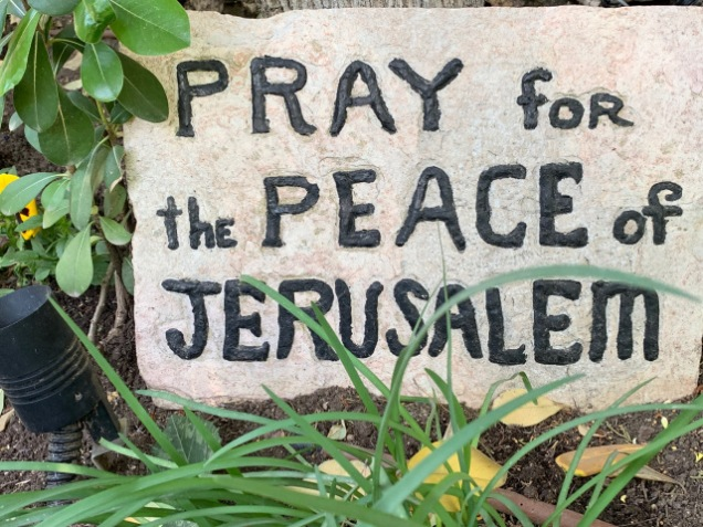 Pray Peace Jerusalen